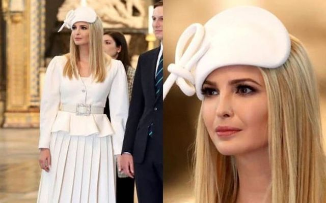 Philip Treacy shared a photo of Ivanka Trump wearing one of his hats on Instagram