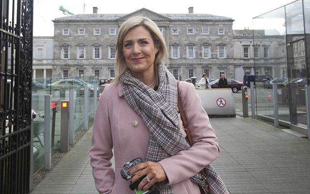 Maria Bailey, a backbench Fine Gael politician from Dun Laoghaire.