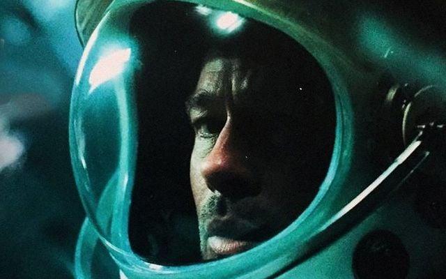 A still of Brad Pitt in Ad Astra.