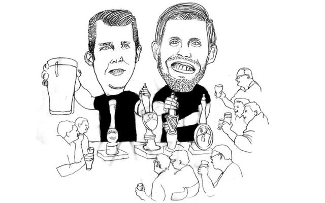Eric and Donald Trump Jr partied hard in Doonbeg, County Clare, and then skipped out on their bill, allegedly.