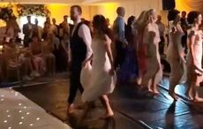 WATCH: Riverdance bride puts on epic Irish dance show at her wedding