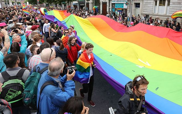 """Pride, Dublin, 2018: A Capuchin Friar in Kilkenny compared homosexuals those who are \""""physically alive but spiritually dead, morally rotten or at least infected.\"""""""