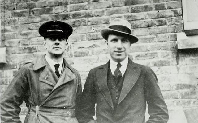 Sir Arthur Whitten Brown and Sir John Alcock in 1919.