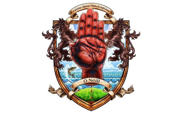 Crest of the Ancient Clan O\'Neill.