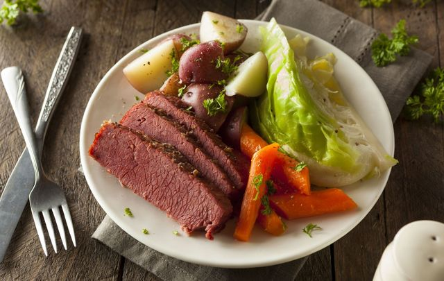 Is bacon and cabbage Ireland\'s favorite meal?
