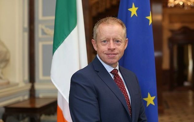 Ciarán Cannon TD, Minister of State for the Diaspora and International Development.