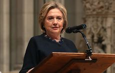 LISTEN: Hillary attacks Trump by quoting Yeats on anarchy let loose in the world