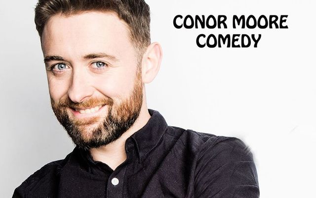 Irish funnyman Conor Moore.