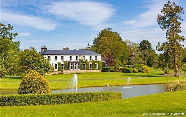 Kilfrush Stud in Co Limerick, once visited by US President Richard Nixon, is set to be auctioned in July.