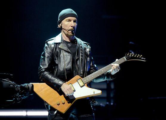 U2 guitarist The Edge. Image: Getty