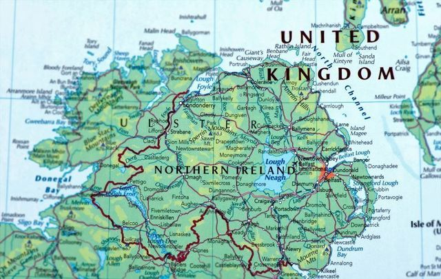 Map Of Ireland On Your Face.New Prime Minister Must Maintain The Union Says Historian