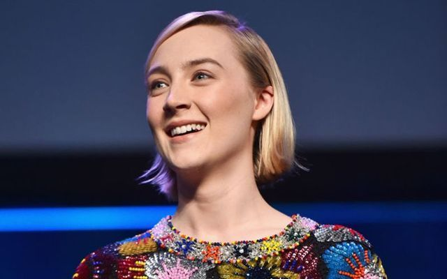 """Saoirse Ronan will star as Jo March in Greta Gerwig\'s \""""Little Women.\"""""""
