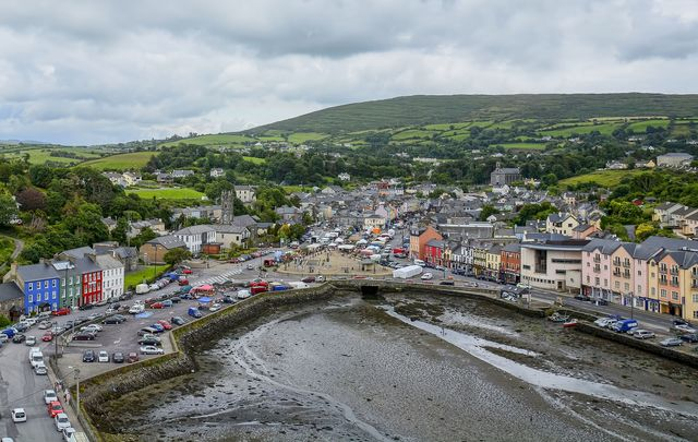 Bantry from the air, Co Cork Ireland.