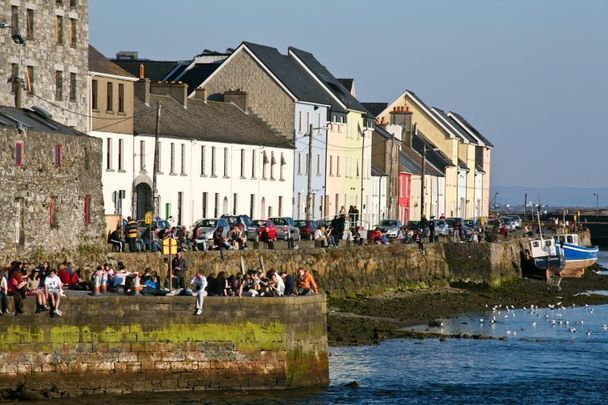 The Claddagh Quay, Galway City.