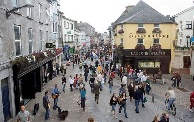 Skeletal remains were discovered during construction on Shop Street in Galway City.