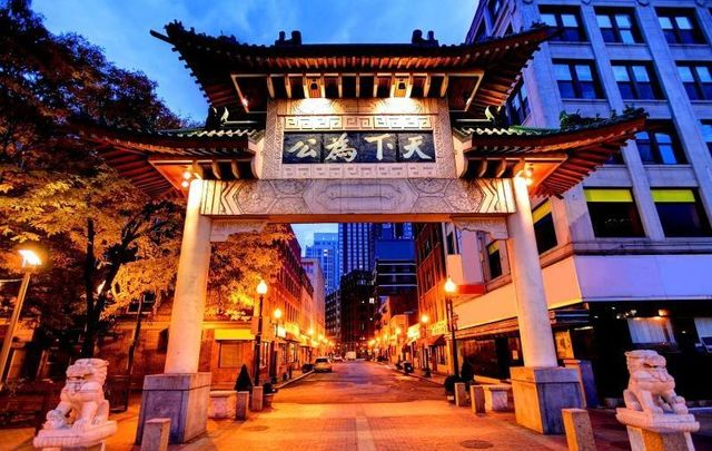 Despite its name, Boston\'s Chinatown has played host to waves of immigrants from several nationalities, including the Irish.