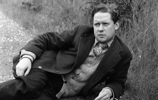 Dylan Marlais Thomas (1914 - 1953), Welsh poet, short-story writer, and playwright.