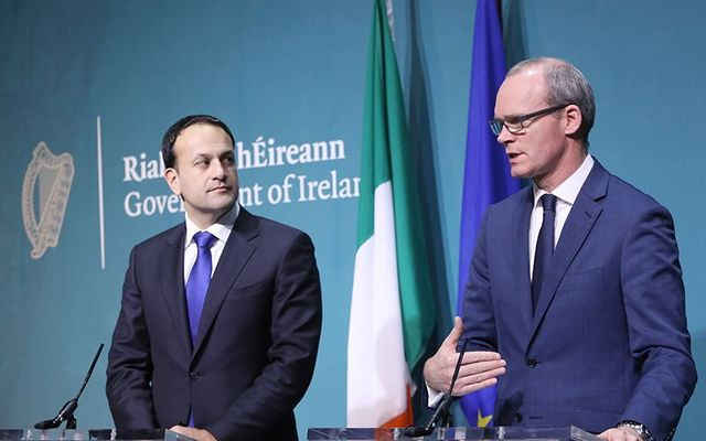 No-deal Brexit: Ireland\'s leaders An Taoiseach Leo Varadkar and An Tanaiste Simon Coveney.