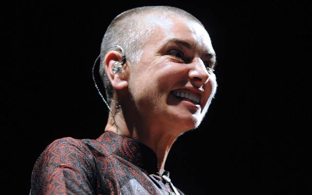 Irish singer Sinéad O\'Connor