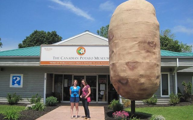 The Canadian Potato Museum in O\'Leary, Prince Edward Island