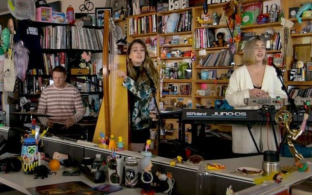 Saint Sister Tiny Desk concert