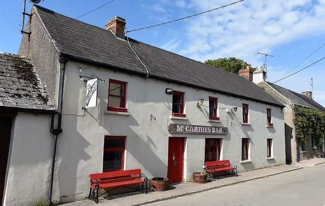 McCarthy\'s Bar in Nohoval, Co Cork is on the market.