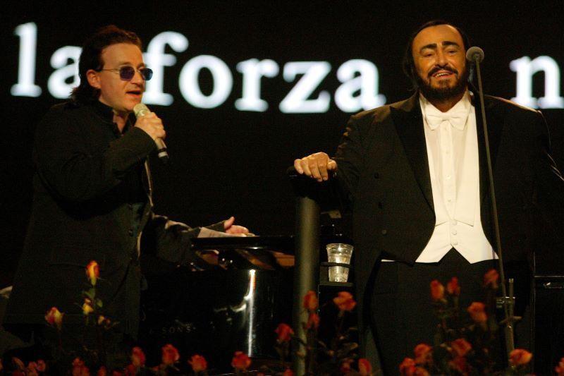 Bono opens Ron Howard's Pavarotti documentary