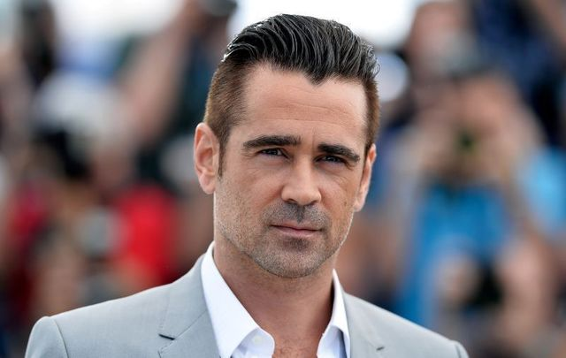 Colin Farrell is in Bucharest filming his latest movie.
