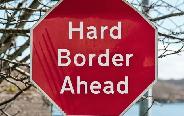 A hard border will likely return to Ireland after Brexit.