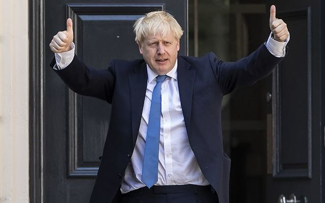 Britain\'s new Prime Minister Boris Johnson.