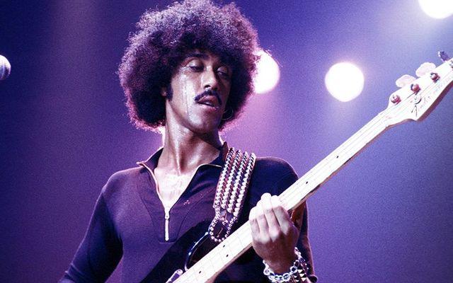 Thin Lizzy frontman Phil Lynott.