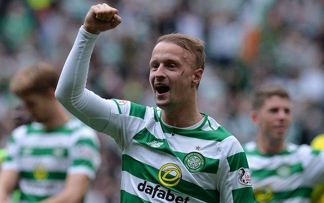 Celtic footballer Leigh Griffiths.
