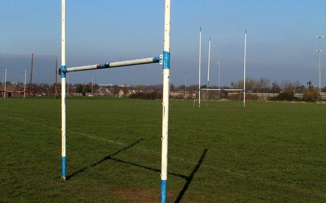 GAA: Gaelic football posts.