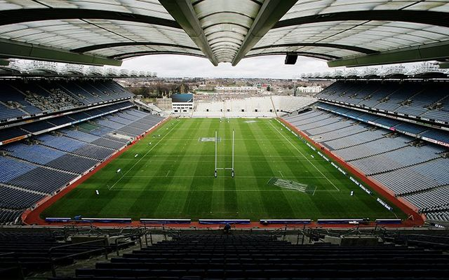40,000 fans were in Croke Park for the doubleheader with the Mayo win over Meath.
