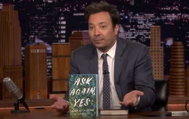 Jimmy Fallon revealed on Thursday that Mary Beth Keane\'s \'Ask Again, Yes\' is the show\'s official summer read for 2019.