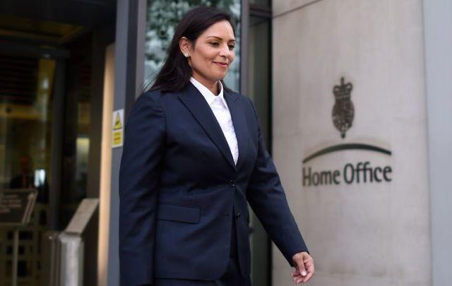 Priti Patel, recently announced as Boris Johnson\'s pick for UK Home Secretary