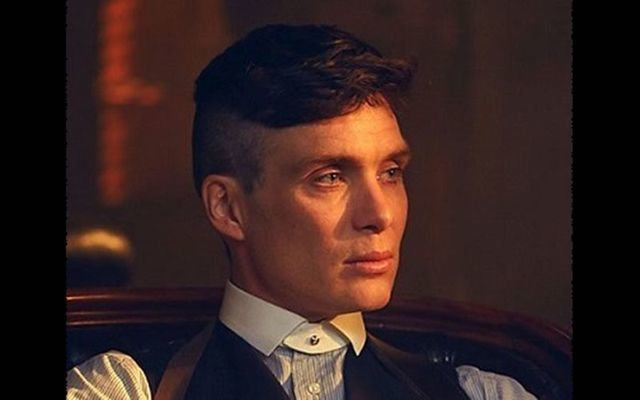Cillian Murphy in Peaky Blinders.