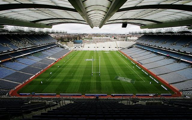 The home of Irish GAA: Croke Park, in Dublin.