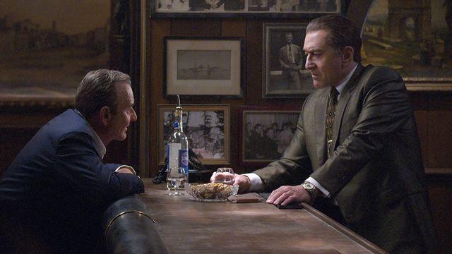 Joe Pesci and Robert Di Nero star in The Irishman.