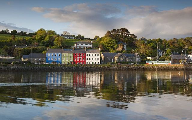 The bay at Bantry: Bantry Harbour, in Cork.