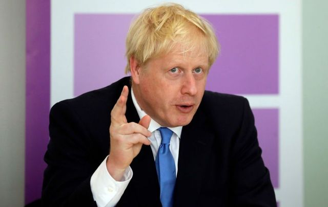 British Prime Minister Boris Johnson speaks during the first meeting of the National Policing Board at the Home Office on July 31, 2019, in London, England.