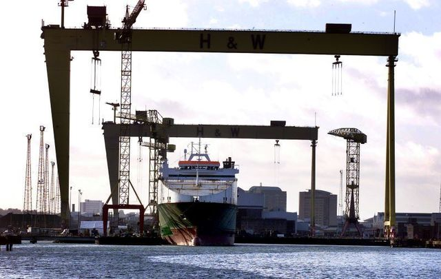 Harland and Wolff has gone into administration as employees continue round-the-clock occupation of the shipyard.