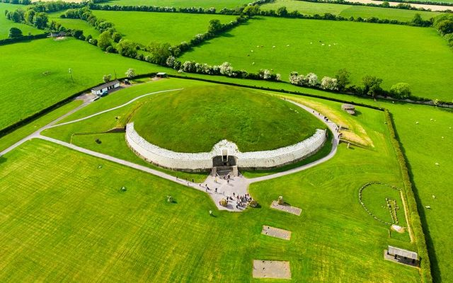 Monument aligned with winter solstice among 40 newly discovered near Newgrange