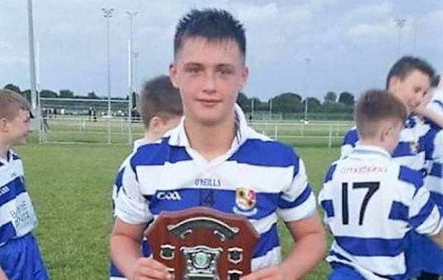 """15-year-old Mikey Leddy from Navan, Co Meath is being remembered as a \""""champion\"""""""