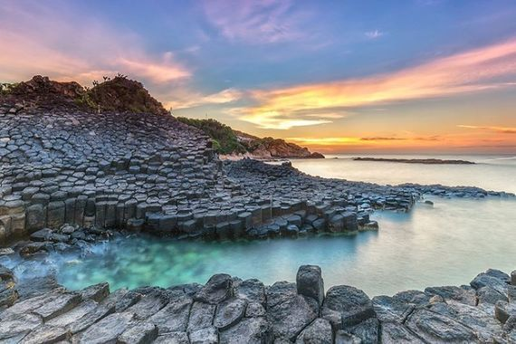 Giants Causeway in County Antrim.
