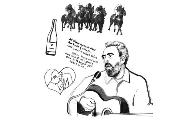 Remembering the Galway Races: Mickey McConnell\'s Supermarket Wine.