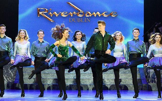 The Riverdance Troupe, in Dublin.