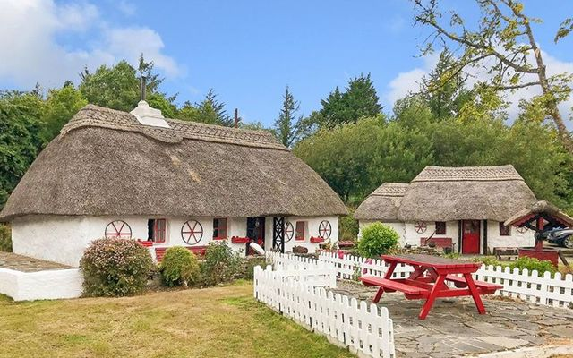 Thatched cottage of the fairies up for sale in Galway
