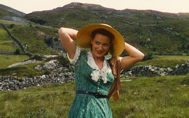 Maureen O\'Hara as Kate Danaher in The Quiet Man.