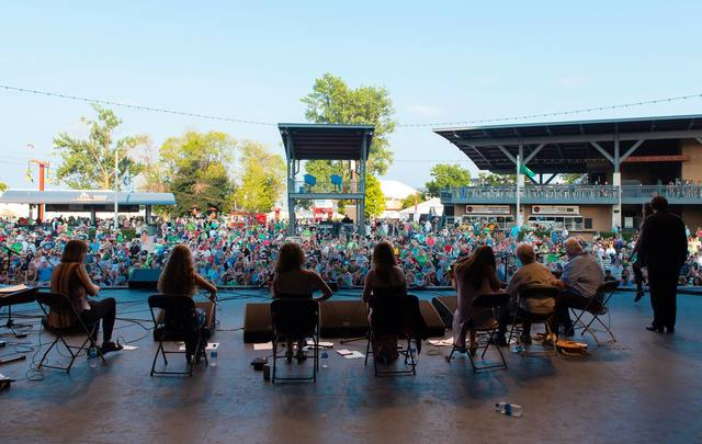 Performers at the Milwaukee Irish Fest taking place this August 15-18, 2019.